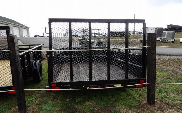 "2021 Big Tex Trailers 35SV 77"" x 10' Vanguard Single Axle Utility Trailer"