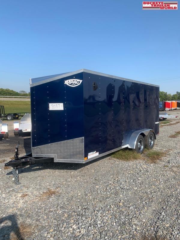 2021 Impact Trailers 7x16TE2 Enclosed Cargo Trailer