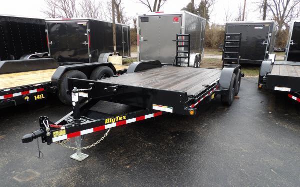 2020 Big Tex Trailers 10ET 7 x 16 Equipment Trailer