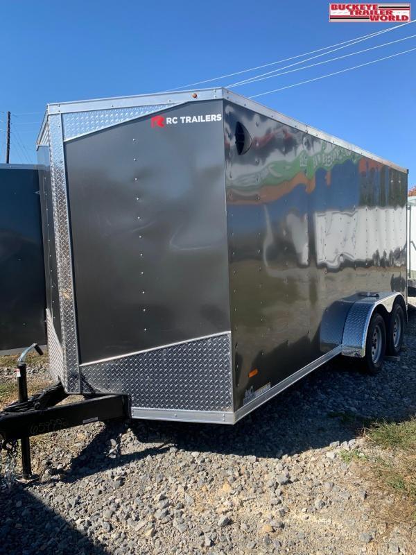 2021 RC Trailers RDLX 7x16TA2 Enclosed Cargo Trailer