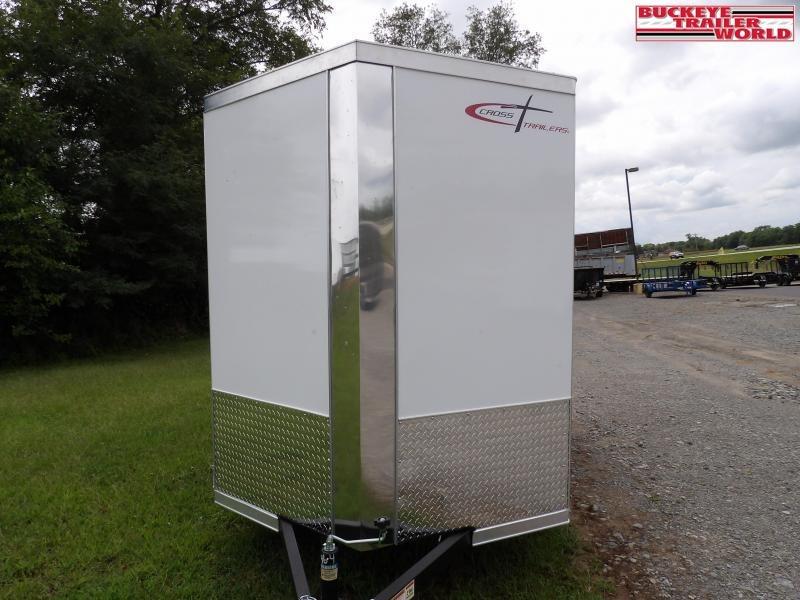 2022 Cross Trailers 6x12 Alpha Enclosed w/ Barn Doors Cargo Trailer