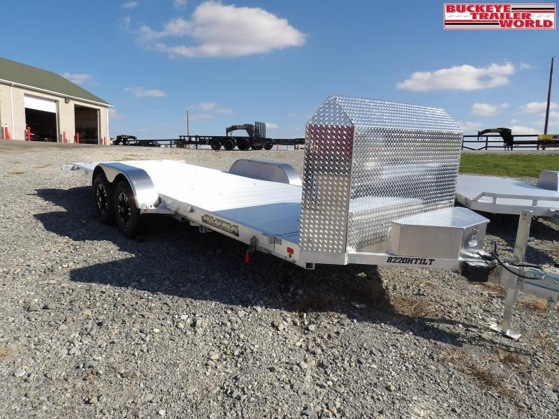 2021 Aluma 8220H-Tilt-Anv Car / Racing Trailer