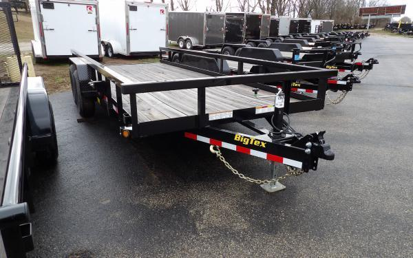 "2020 Big Tex Trailers 14PI 83"" x 18' Tandem Axle Utility Trailer"