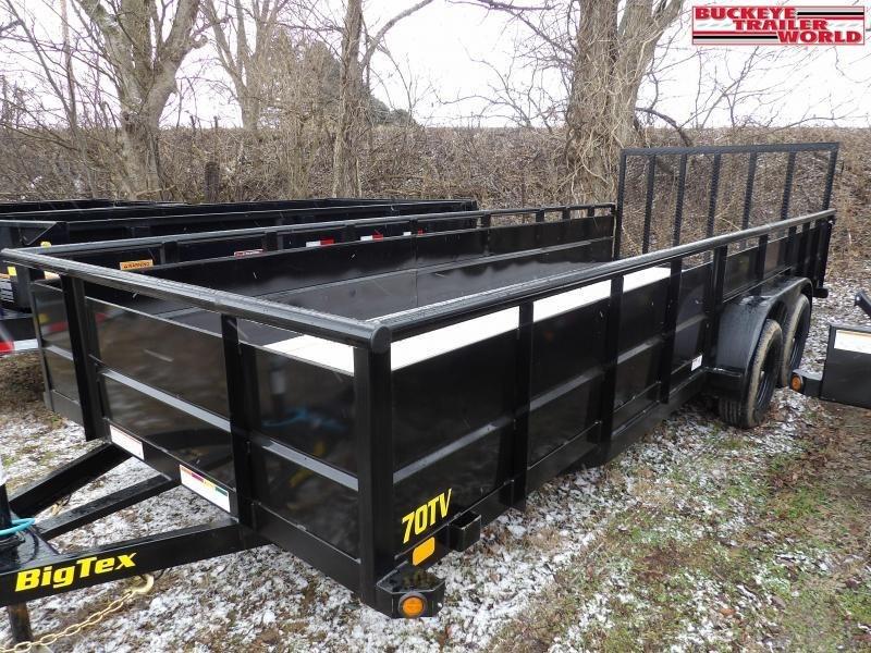 2021 Big Tex Trailers 70TV-20 Utility Trailer