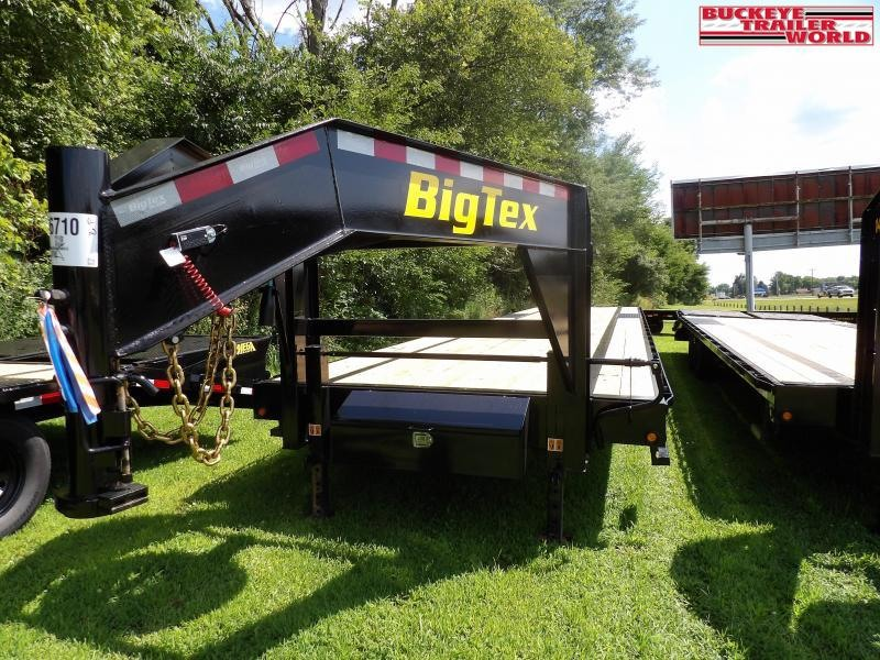 2022 Big Tex Trailers 16GN-40 Flatbed Trailer