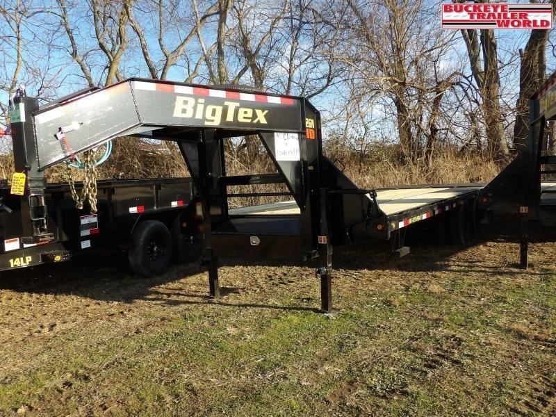 2020 Big Tex Trailers 22GN-20+5MR Flatbed Trailer