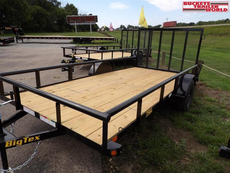 "2021 Big Tex Trailers 35SA-77""x14 Utility Trailer"