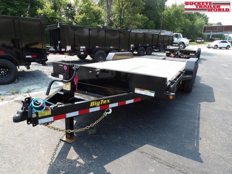 2022 Big Tex Trailers 14ET-18MR Equipment Trailer