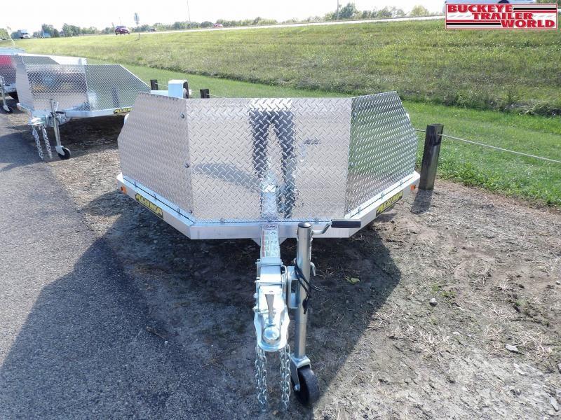 2022 Aluma MC210 Motorcycle Utility Trailer