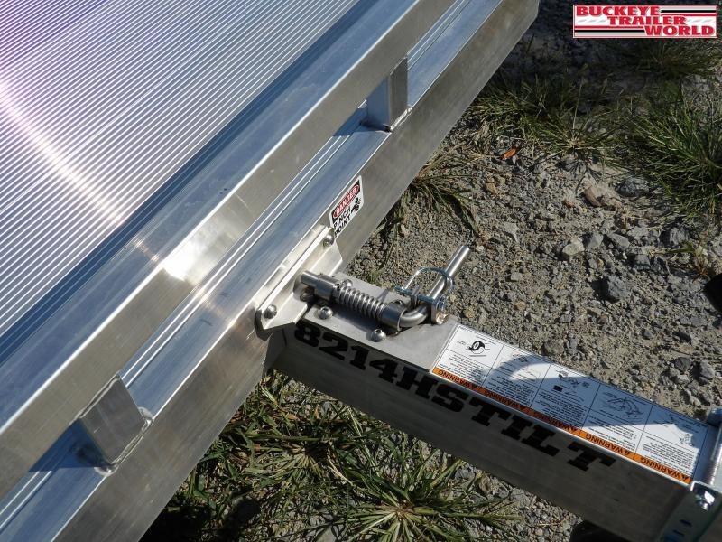 2020 Aluma 8214HSTilt Equipment Trailer