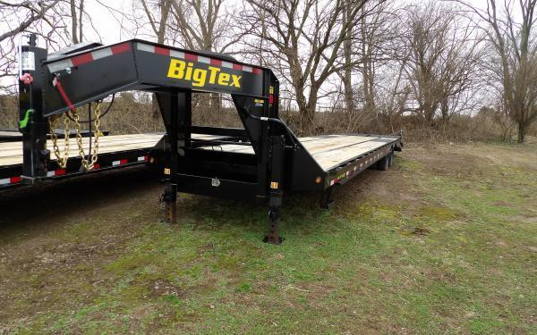 "2020 Big Tex Trailers 25GN 102"" x 35'+5' Flatbed Trailer"