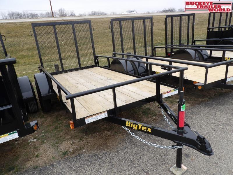 "2021 Big Tex Trailers 30SA-60""x08 Utility Trailer"