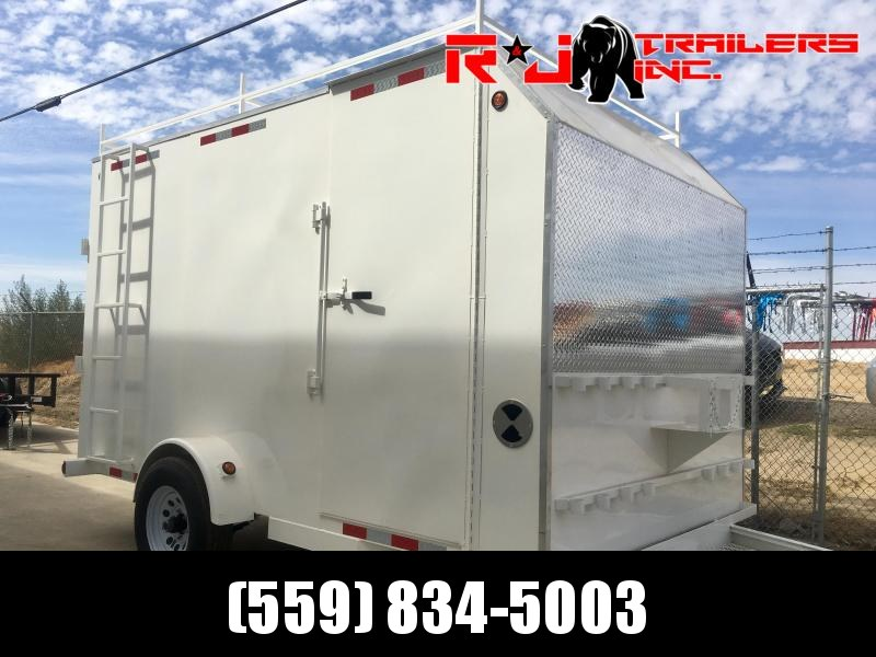 2021 R&J 7x12 Enclosed trailer