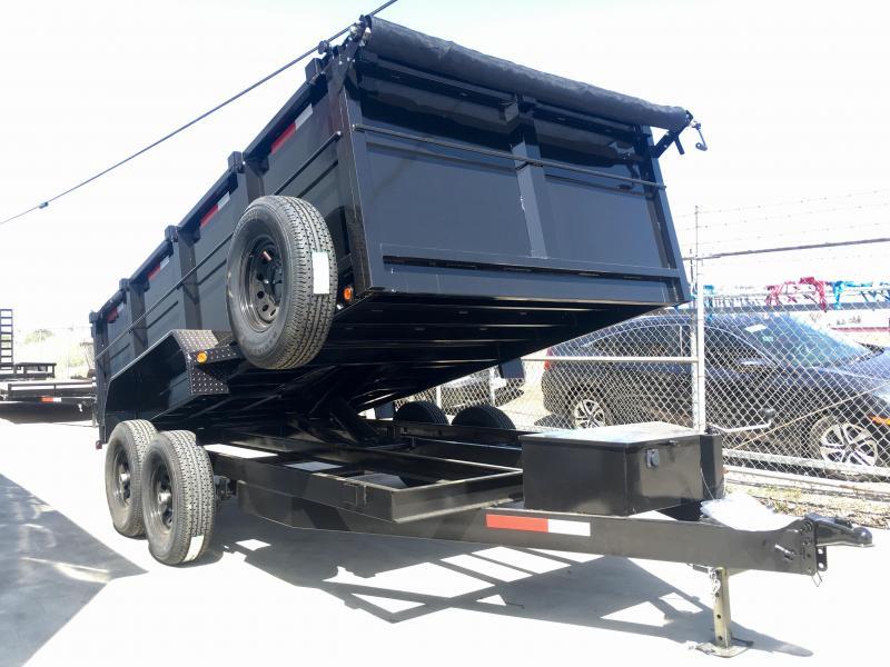 2020 R&J Trailers Inc 7x14 14k  Dump Trailer 3' walls