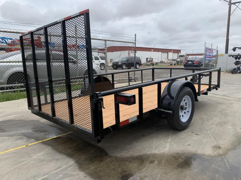 2021 R&J 6x12 w/ drop axle 2.9k Utility Trailer