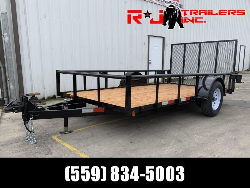 2021 R&J 6x12 w/ drop axle 2.9k Utility Trailer