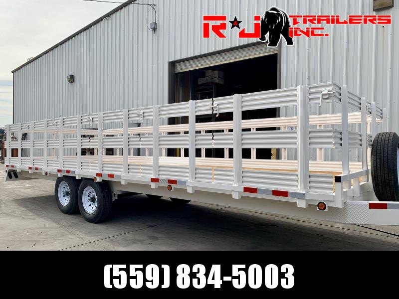 2020 R&J 102'' x 24' 14k Deck Over Trailer