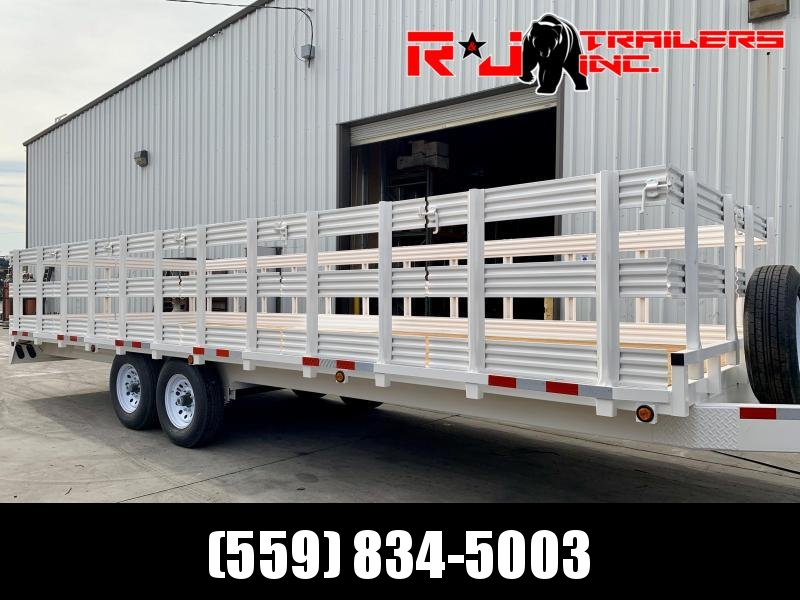 2021 R&J 102'' x 24' 14k Deck Over Trailer