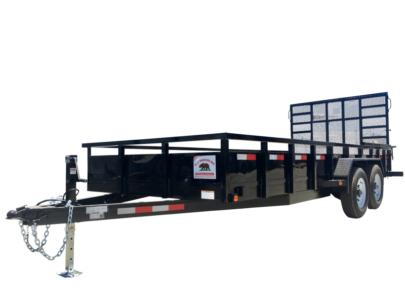 2020 R&J 7'x20' 10k HD Equipment Trailer