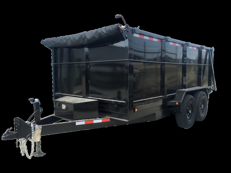 2020 R&J Trailers Inc 7x14 14k Dump Trailer 4' WALLS