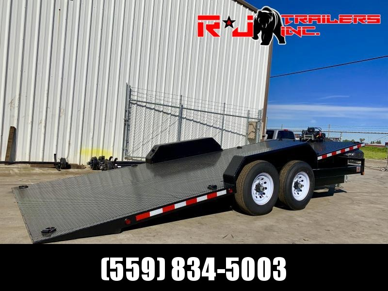 2021 R&J 8.5X20 HD Tilt bed Equipment Trailer