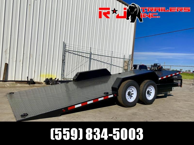 2021 R&J 8.5X20 HD Tilt bed Equipment Trailer