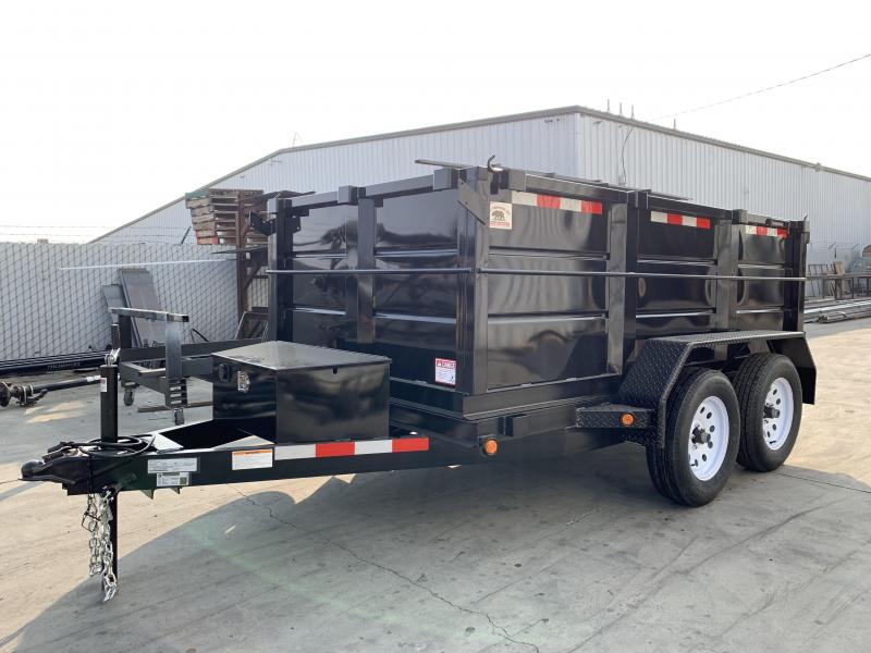 2020 R&J Trailers Inc 5X10 7K 3' WALLS DUMP