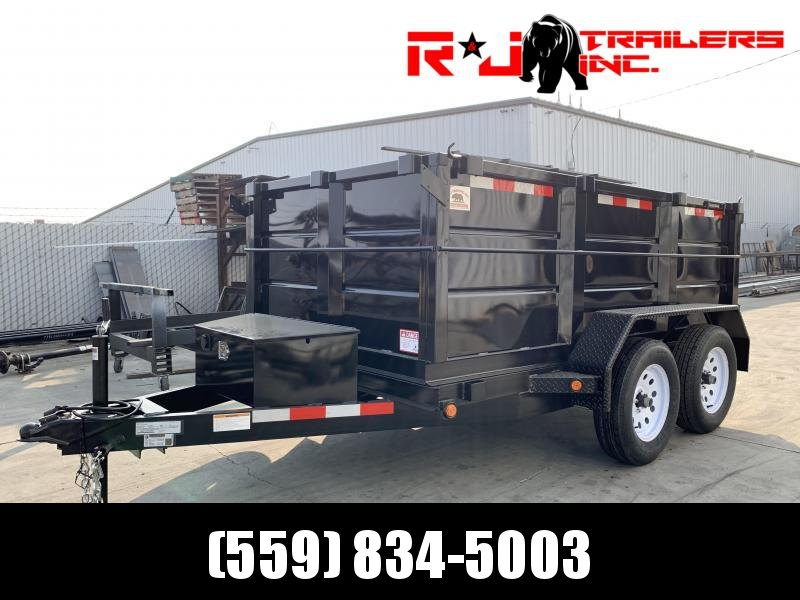2021 R&J Trailers Inc 5X10 7K 3' WALLS DUMP