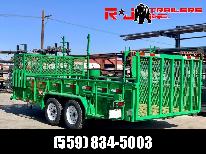*** 2021 R&J Custom Utility Landscaping Trailer ***