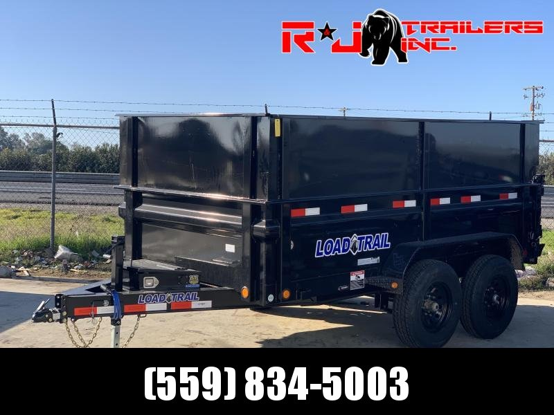 *** 2020 Load Trail 6X12 10K 4' walls Dump Trailer***