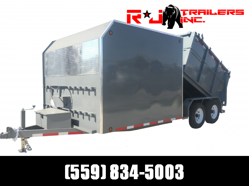 2021 R&J 8x15 Custom Enclosed/Dump Trailer