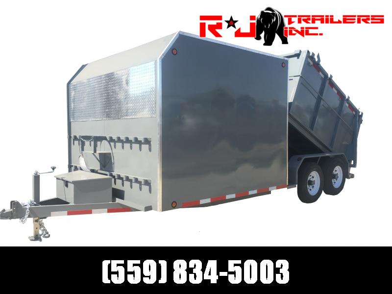 2021 R&J 8x15 Custom Enclosed/Dump Trailer