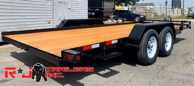 2020 R&J Trailers Inc 7x18 7k Car / Racing Trailer