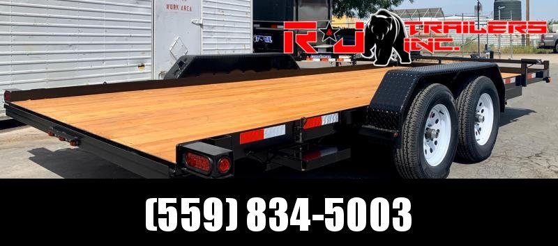 2021 R&J Trailers Inc 7x18 7k Car / Racing Trailer