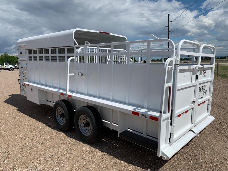 2021 Big Bend 20' 3/4 Top Livestock Trailer
