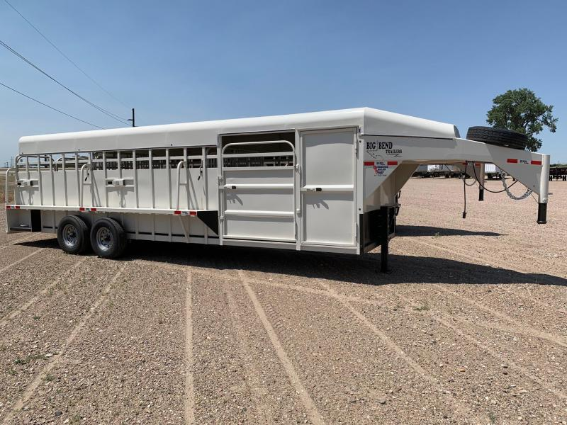 2021 Big Bend 26' Full Top Livestock Trailer