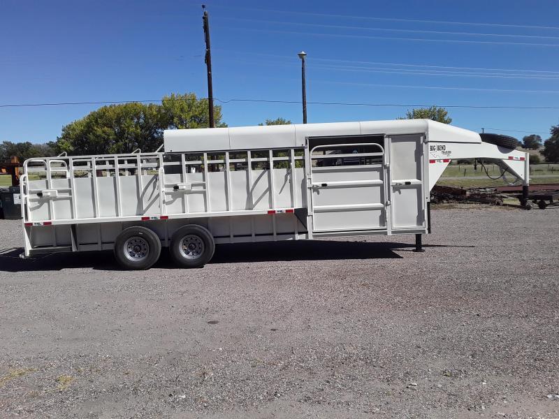 2021 Big Bend 24 HALF TOP Livestock Trailer