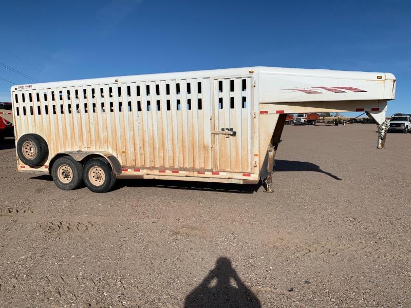 2002 Trailex Trailmann 2000 Livestock Trailer