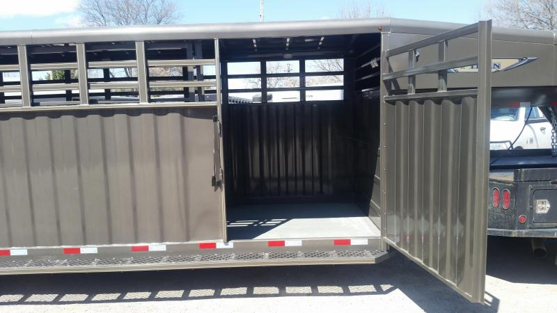 2020 Titan Trailers 24' RANCHER STOCK Livestock Trailer