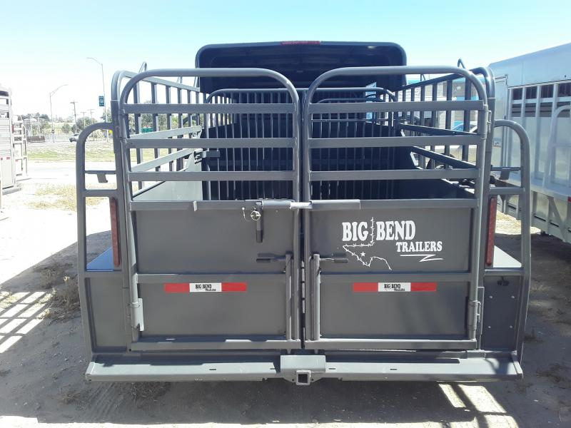 2021 Big Bend 18 HALF TOP Livestock Trailer