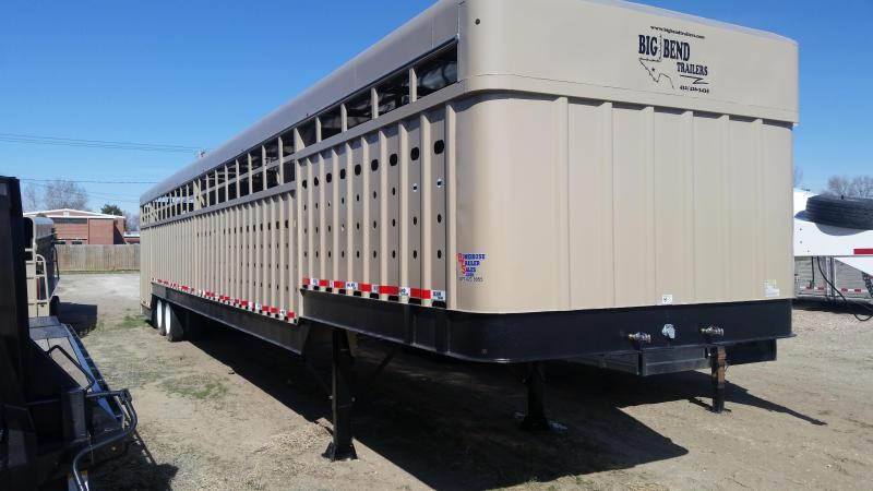 2020 Big Bend 53' GROUND LOAD Livestock Trailer