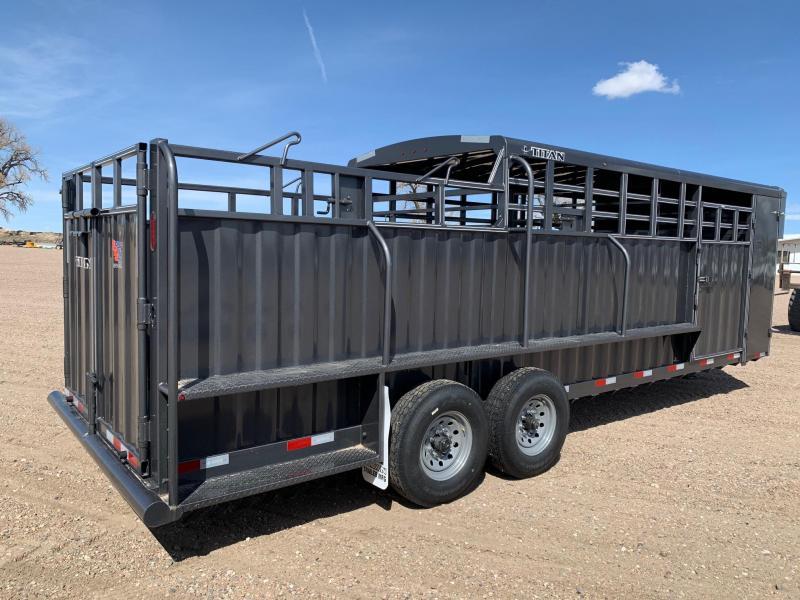 2020 Titan Trailers RANCHERO 24' Livestock Trailer