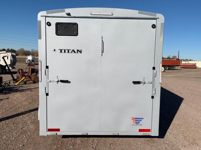 2021 Titan Trailers 16' Cargo Equipment Trailer