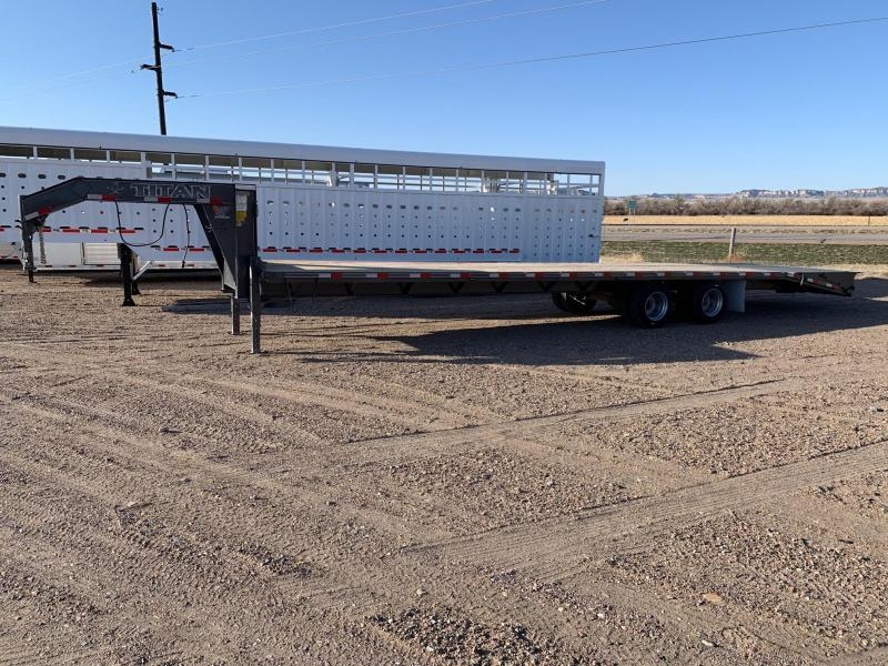2021 Titan Trailers 36' Ruff Neck Flatbed Trailer