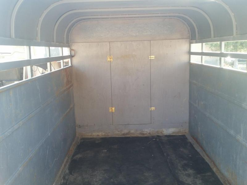 1984 Travalong 12' BH STOCK Livestock Trailer