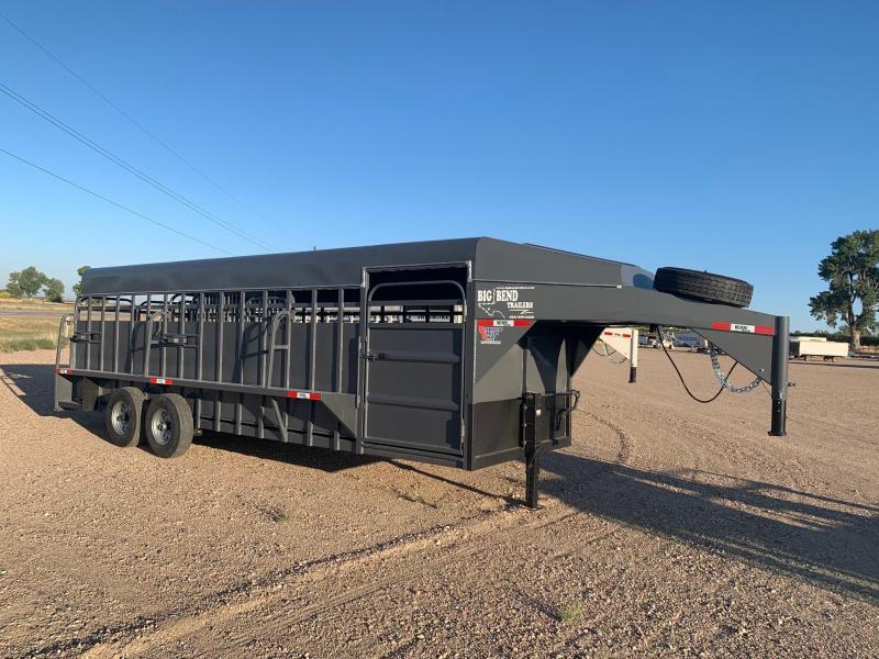 2021 Big Bend 24' Full Top Livestock Trailer