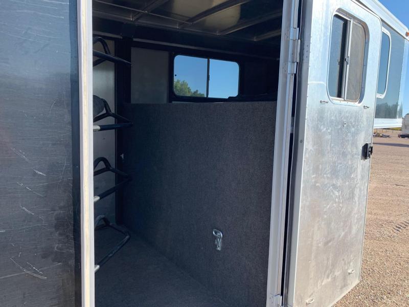 2012 Logan Coach Stockman Combo GN 20' Livestock Trailer