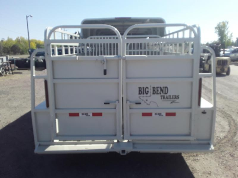 2021 Big Bend 24' HALF TOP Livestock Trailer