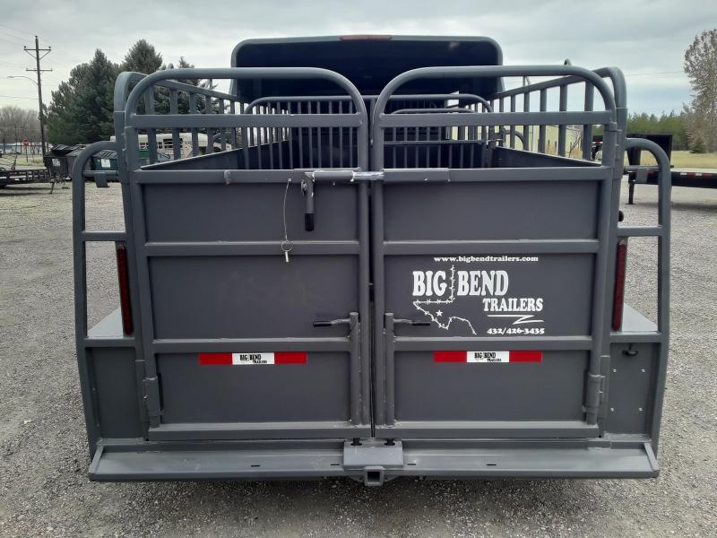 2021 Big Bend 20 HALF TOP Livestock Trailer