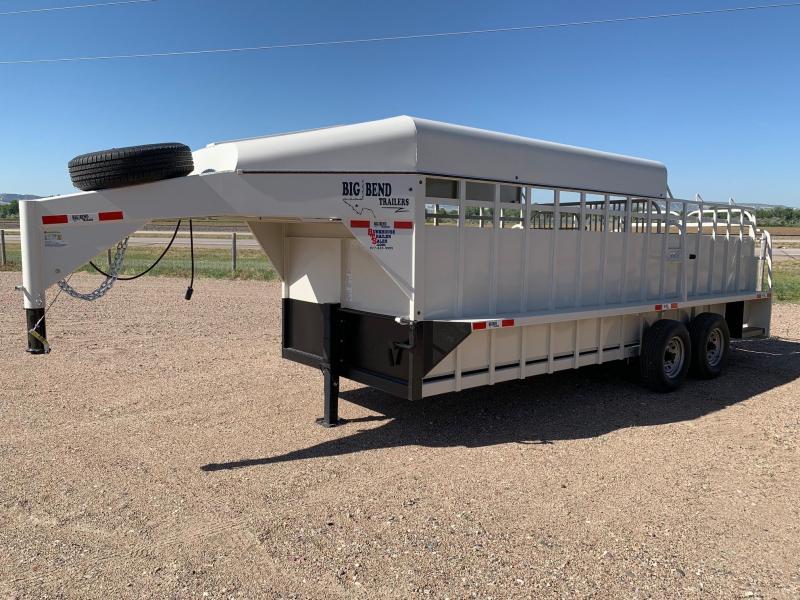 2021 Big Bend 20 3/4 Top Livestock Trailer